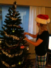 Decorating the tree :)
