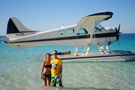 We went on an amazing trip around the Whitsunday Islands in August (not in this plane :P...in a catamaran)