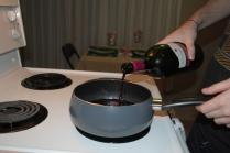 Adding some more wine