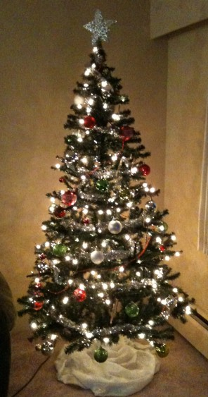 And finally...our Christmas tree for December!