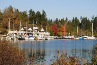 First look at Stanley Park, Vancouver in November
