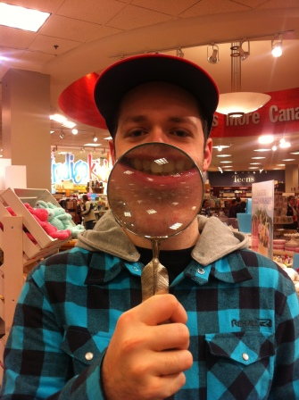 CHEESE!! Messing about in Chapters book store