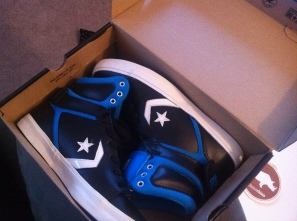 My sweet new sneakers I got for $28 :)