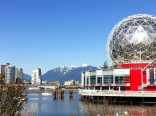 An amazing view of Science World