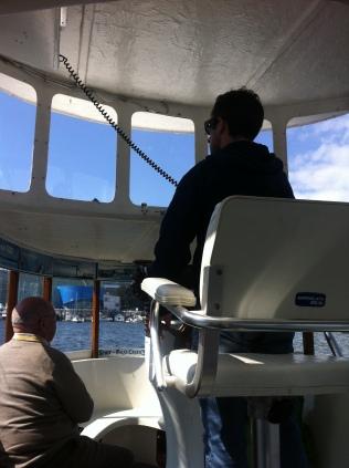 False Creek Ferry ride