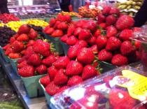 Delicious juicy strawberries