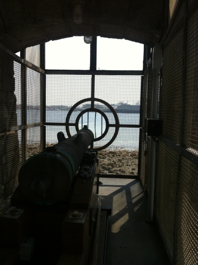 The 9 O'clock Gun in Stanley Park