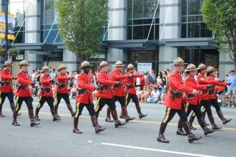 Canadian Mounties!