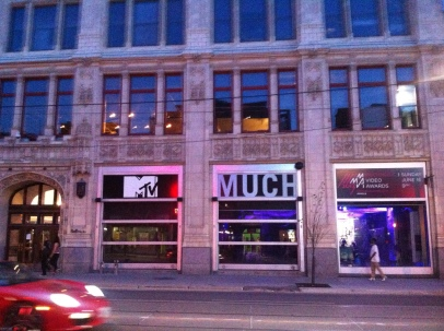 Where MTV Canada and Much Music is filmed