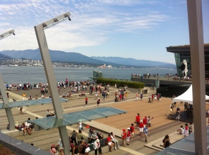 Coal Harbour view from Cactus Club roof