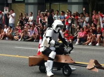 Of course there were Storm Troopers at the Canada Day Parade...