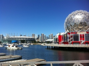 Science World and BC Place