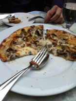 The best mushroom pizza ever!
