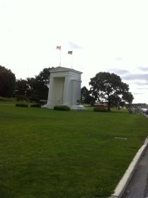 Peach Arch at the Border