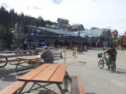 The base of the Whistler Gondola