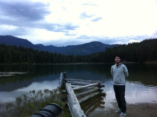 Rob at Lost Lake