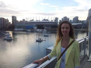 The view of BC Place