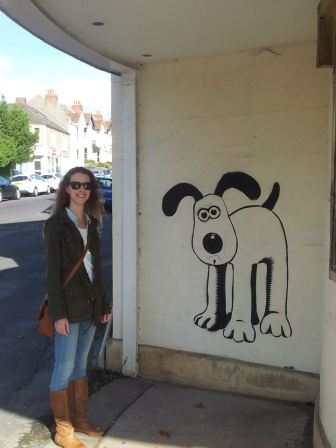 Me with Gromit