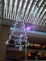 Some of the decorations in the mall
