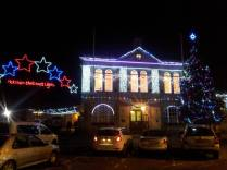 Some lights we saw while driving through Melksham