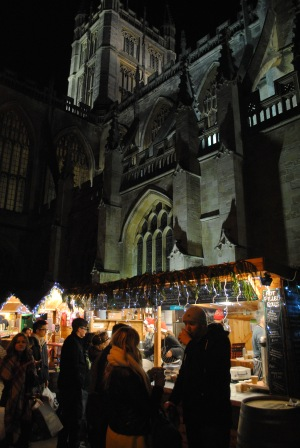 Perfect setting for a Christmas market