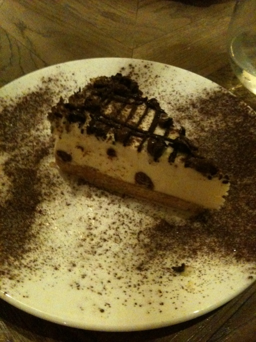 My amazing honeycomb cheesecake from ASK